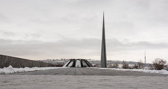Цицернакаберд. Мемориал жертвам Геноцида армян