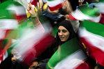 Празднование 36-летия исламской революции