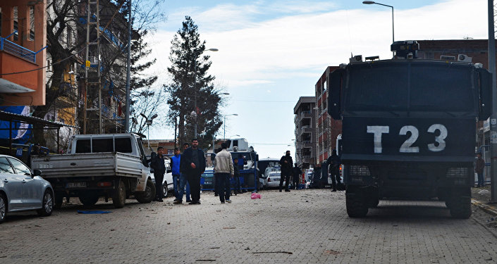 Город Чинар турецкой провинции Диарбекир