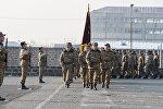 Торжественный марш миротворческой бригады ВС Армении