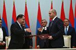 Партии РПА и АРФД подписали соглашение о сотрудничестве