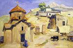 Репродукция картины Церковь Кармравор