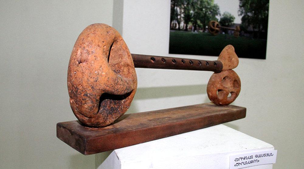 Выставка городской скульптуры в Ереване