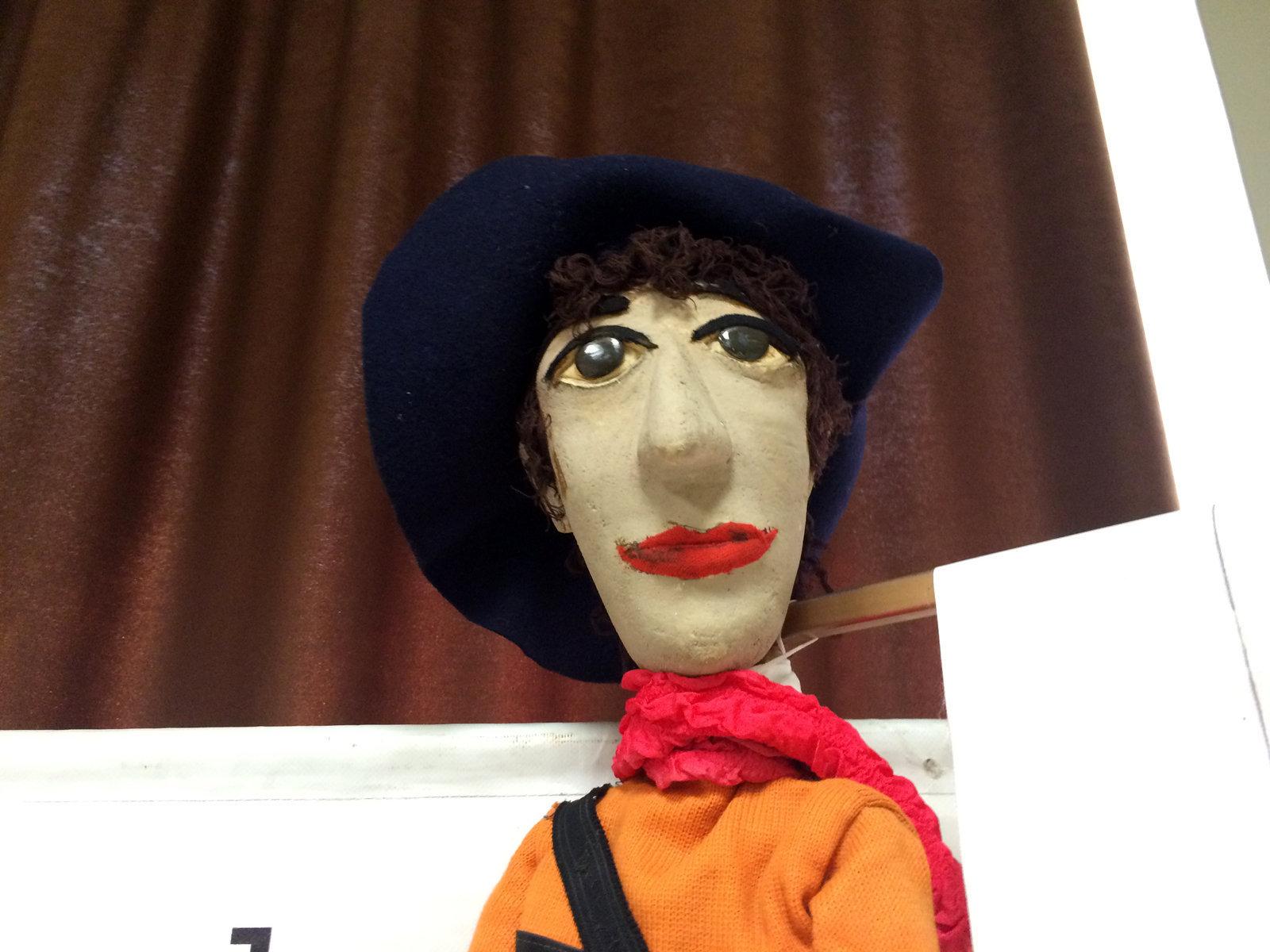Кукла Леонида Енгибарова