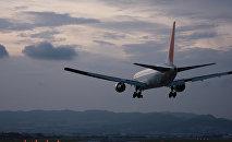 Самолет. Посадка