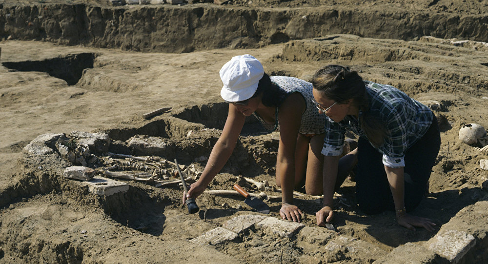 Археологические раскопки города Сарай-Бату