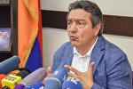Председатель союза журналистов «Медиа конгресс» Ашот Джазоян