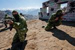 Учения российских войск в армянских горах