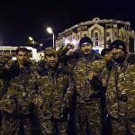 Добровольцы в Нагорном Карабахе