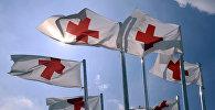 Флаги организации Красного креста