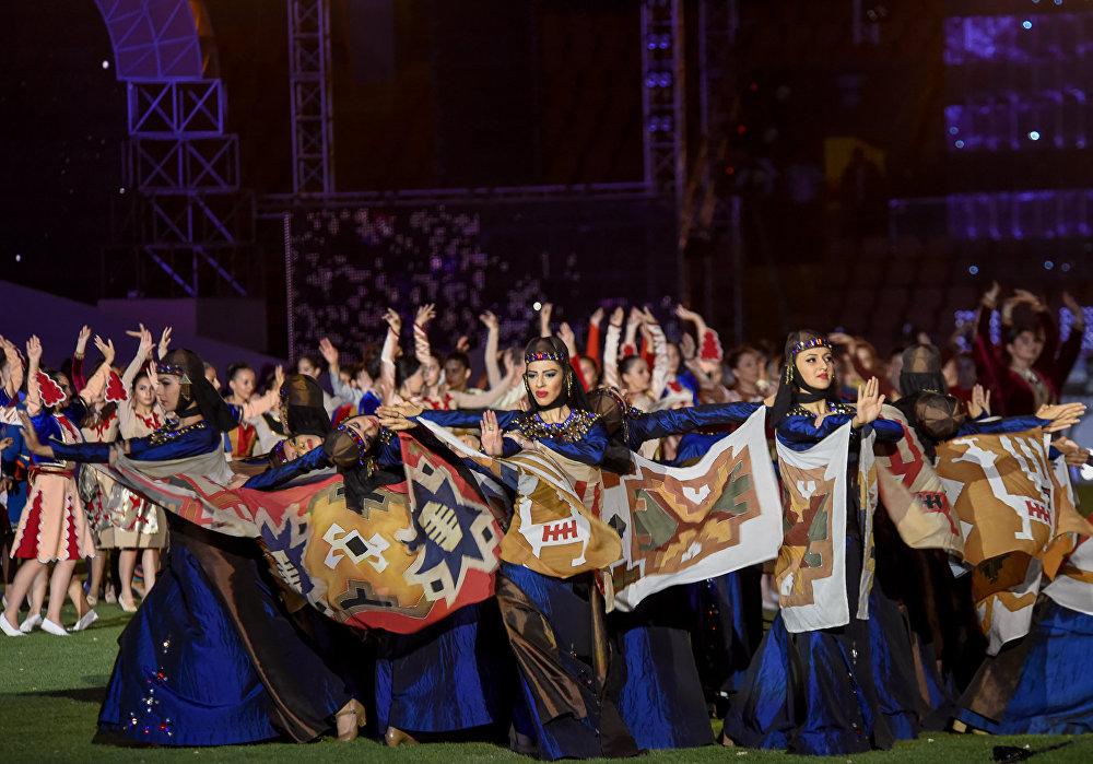 Шестые Панармянские игры