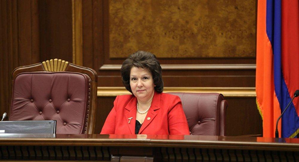вице спикер парламента: