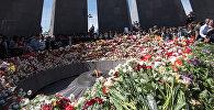 Мемориал памяти жертв Геноцида армян в Цицернакаберде