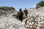 Военнослужащие армянской армии на боевых позициях