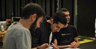 Участники конкурса разработчиков Hackathon ArmBigData