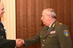 Начальник ГШ ВС Грузии и заместитель начальника ГШ ВС Армении Энрико Априамов
