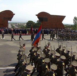 Торжественные мероприятия по случаю Дня Первой республики. Архивное фото