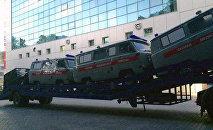 Купленные армянами Ростовской области автомобили для Нагорного Карабаха