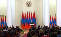 Президент Армении посмертно присвоил высшие государственные награды военнослужащим и добровольцам