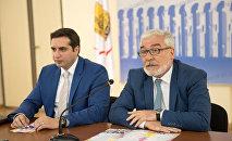 Араз Багдасарян и Рубен Оганесян