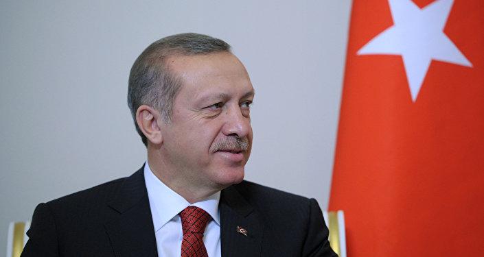 Президент Турции Тайип Эрдоган. Архивное фото.