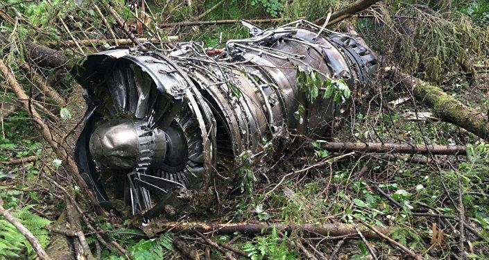 Крушение истребителя Су-27 в Подмосковье