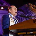 Премьер-министр Армении Овик Абраамян на церемонии закрытия Шестых Панармянских игр