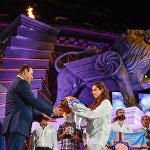 Церемония закрытия VI-х Панармянских игр состоялась на Площади свободы в Ереване