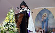 Месса Папы Римского в Гюмри