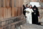 Папа Римский Франциск I в Хор Вирапе