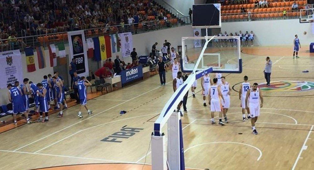 Армянские баскетболисты