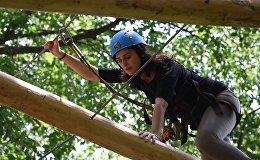 Почувствуй себя Маугли: в Армении открылся новый приключенческий Rope Park
