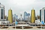 Город Астана. Казахстан.