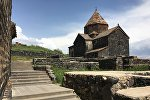 Монастырь на северо-западном побережье озера Севан - Севанаванк