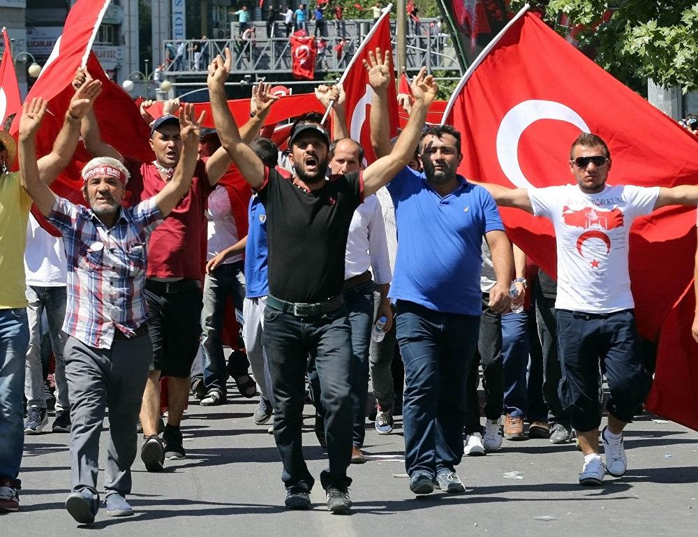 Ситуация в Турции после попытки переворота.