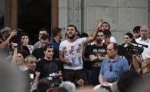 Акция на площади Свободы в Ереване