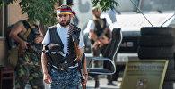 Члены вооруженной группы, захватившей здание полка ППС в Ереване. Смбат Барсегян