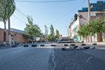 Захваченное здание полка ППС в Ереване