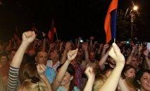Шествие оппозиции в Ереване