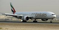 Самолет авиакомпании Эмиратс (Emirates)