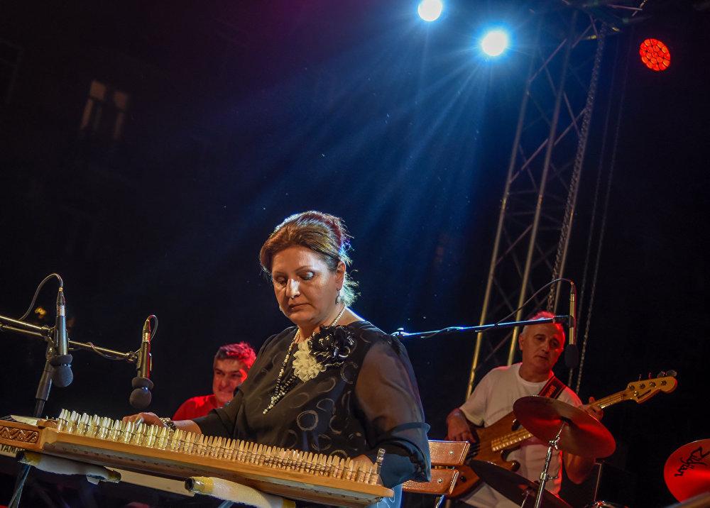 """Концертный вечер """"Город слушает джаз"""" в Ереване"""