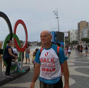 Спутник_Пешком через два континента: как россиянин добрался до Рио за 469 дней