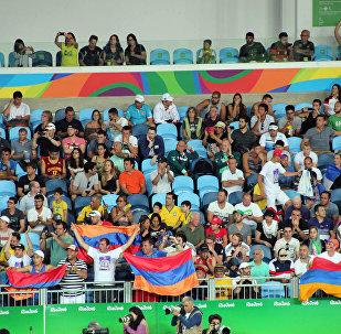 Армянские болельщики в Рио