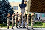Курсанты военного училиша имени Вазгена Саргсяна