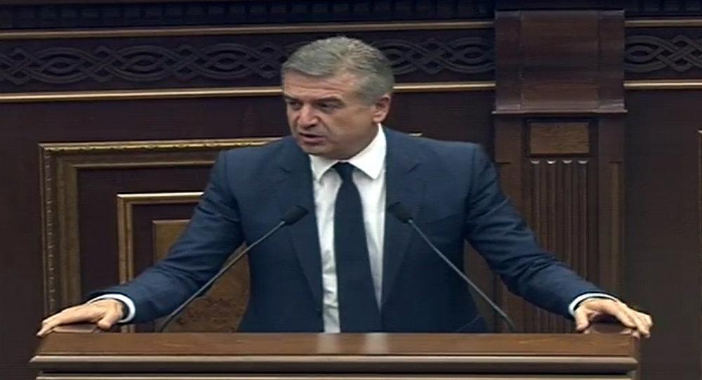 Всостав нового руководства Армении войдут профессионалы— Премьер Карен Карапетян