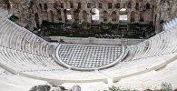Руины Античного Амфитеатра в Греции