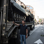 Репетиция парада к 25-й годовщине независимости Армении