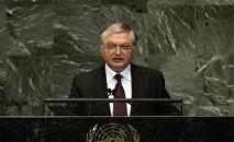 Эдвард Налбандян в ООН. 2012 год