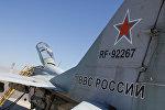Истребитель МИГ 29 в авиабазе Эребуни. Армения
