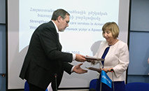 Подписание Соглашения о финансировании проекта ЮНИСЕФ по развитию неонатальных услуг в Армении